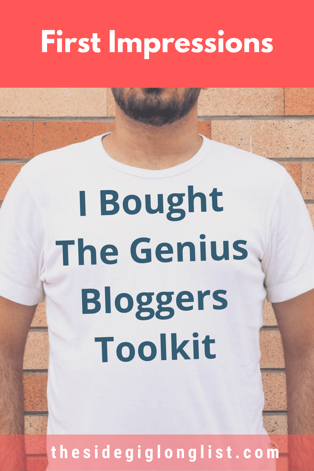 I Bought the Genius Bloggers Toolkit