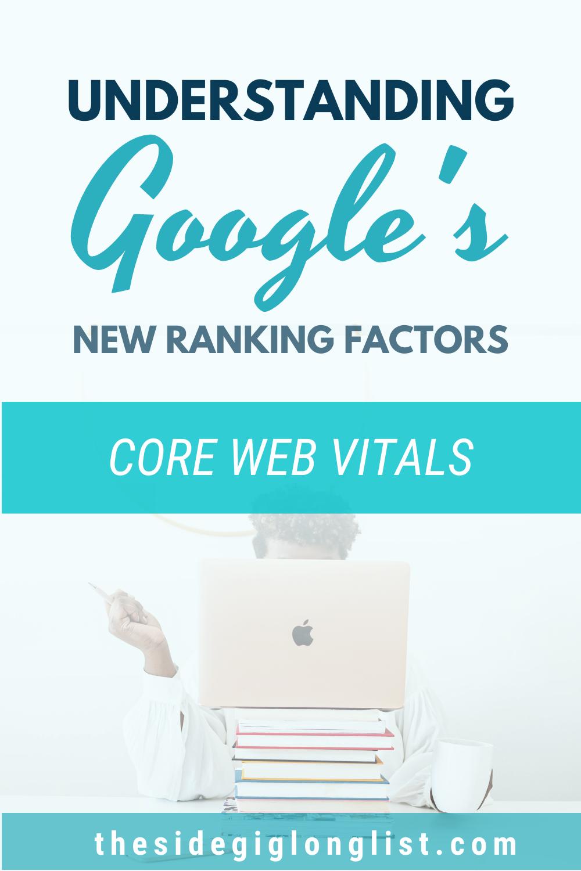 understanding Google's new ranking factors - core web vitals