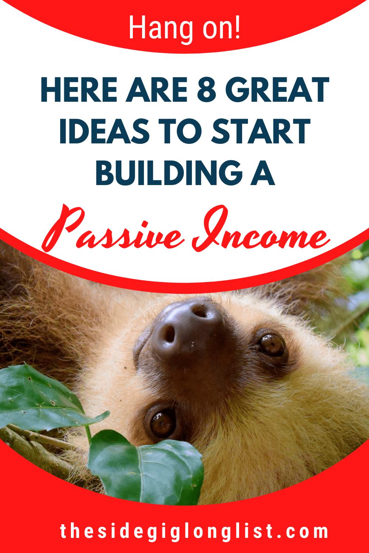 8 great passive income ideas