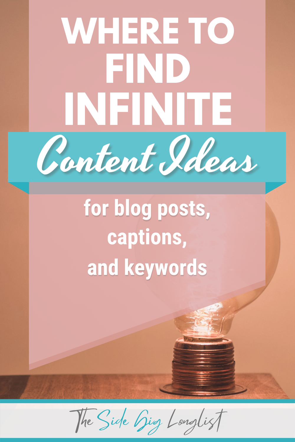 where to find infinite content ideas for blog posts