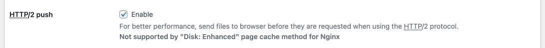 enable http2 push